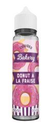 Le E-liquide Donut à la Fraise by Liquideo – Tentation Bakery, un duo parfait entre un onctueux donut sucré et un colis de fraise bien mûre.Mya-vap