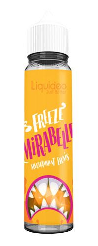 Le E-liquide Freeze Mirabelle 50ML by Liquideo, Un sorbet Mirabelle bien sucré avec une bonne sensation glacée.Mya-vap