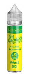Les Essentiels by Liquidarom nous propose son E-liquide Le Citron de Provence, un somptueux Citron Acide et Sucré à la fois-mya-vap
