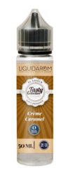 Les Tasty Collection by Liquidarom nous propose son E-liquide La Crème Caramel, une délicieuse crème enrobée par un caramel vif et éclatant.Mya-vap