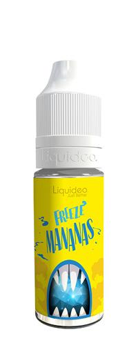 Le E-liquide Freeze Mananas by Liquideo, Un sorbet Ananas à la chair juteuse et sucrée avec une bonne sensation glacée. Mya-Vap