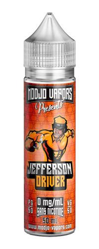Jefferson 50 ml – Modjo Vapors – Liquidarom L'e-liquideJefferson 50ml par Modjo Vapors de Liquidarom est une Cacahuète Chouchou Pralinée. La saveur étonnante du chouchou, la célèbre cacahuète enrobée de praline et croustillant à souhait-Mya-vap