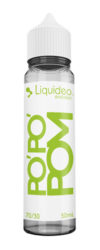 Le E-liquide Po'Po'Pom 50ML by Liquideo, Une Pomme acidulée juste ce qu'il faut et bien juteuse-mya-vap