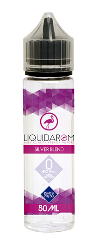 Liquidarom nous propose dans sa collection blend, son E-liquide «Silver Blend» un E-liquide saveur Tabac Blond neutre, tout simplement-Mya-Vap