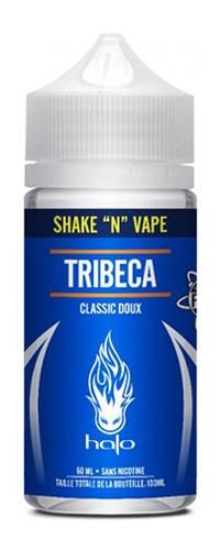 Le E-liquide Tribeca by Halo, un tabac sucré pour ce classic légendaire. Tribeca est un mélange de classic blond et de caramel-Mya-vap