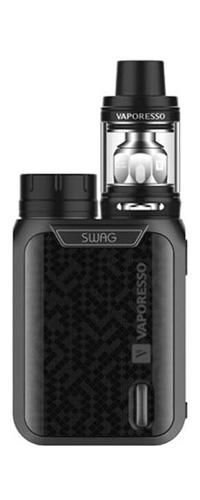 Le kit Swag NRG SE est proposé par Vaporesso. Il se compose de la box électronique Swag (Accu 18650 non inclus) et du clearomiseur NRG SE Tank-mya-vap